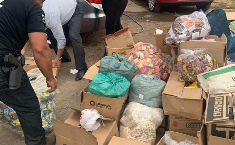 Dois homens são presos por falsificação e fabricação imprópria de cigarros de palha em Sete Lagoas