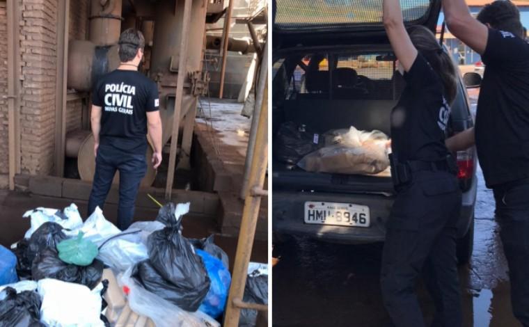 Polícia Civil incinera cerca de 100 kg drogas apreendidas em Sete Lagoas