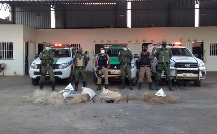 25º Batalhão de Polícia Militar de Sete Lagoas divulga resultados da operação 'Narco Brasil'