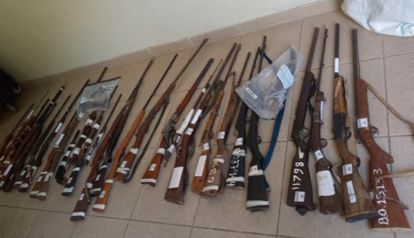 Polícia Civil destrói mais de 50 armas de fogo apreendidas em Sete Lagoas