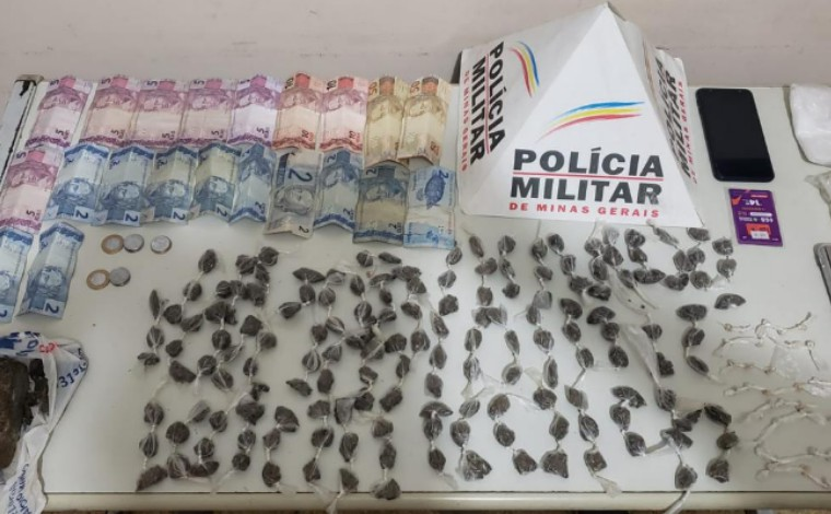Homem é preso e grande quantidade de drogas é apreendida em Matozinhos