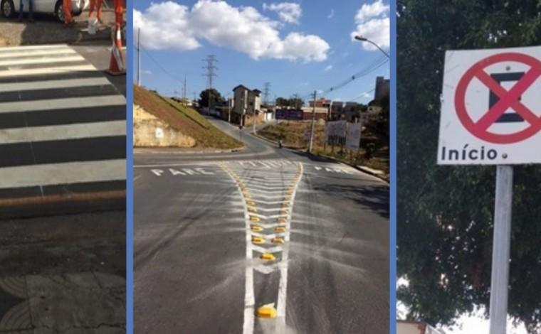 Sete Lagoas garante manutenção contínua da sinalização horizontal e vertical no trânsito da cidade