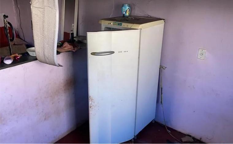 Criança de 2 anos se esconde em geladeira para escapar de incêndio em Cuiabá; mãe é presa