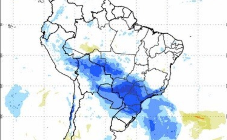Frente fria chega a Minas Gerais e derruba as temperaturas novamente em mais de 300 cidades