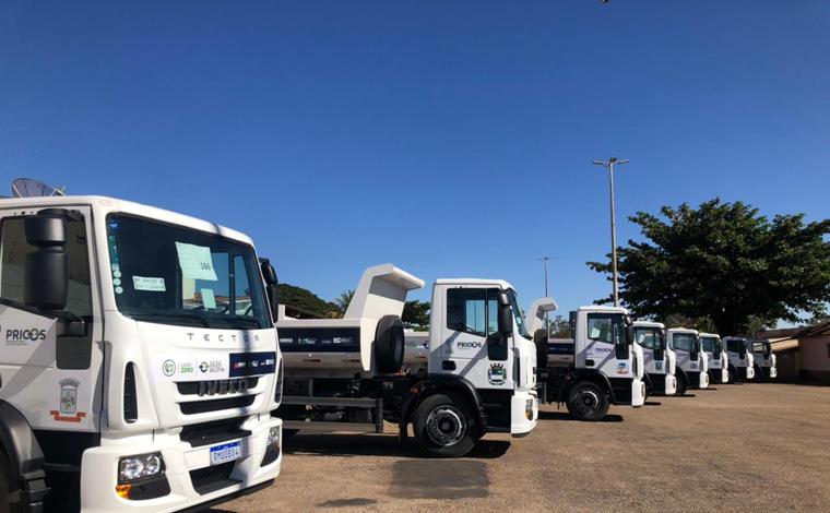 Cidades mineiras recebem veículos e equipamentos para avançar na gestão de resíduos sólidos urbanos