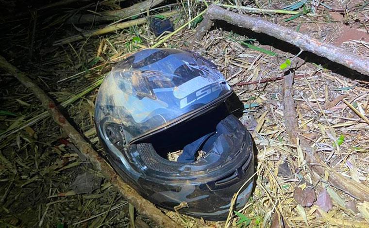 Mulher morre decapitada e homem fica ferido em queda de moto na zona rural de Uberlândia