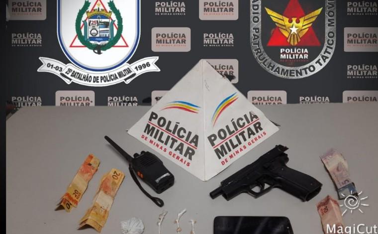 Adolescente é apreendido por tráfico de drogas no bairro São Vicente em Sete Lagoas