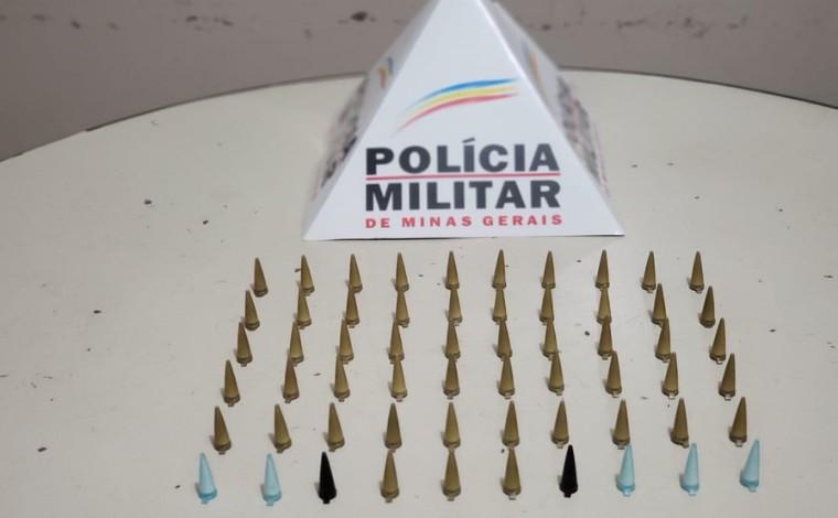 Polícia Militar apreende grande quantidade de drogas no bairro Bom Jesus em Matozinhos