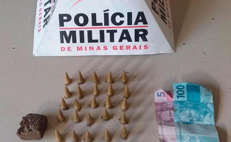 Menor é apreendido pela PM por envolvimento com tráfico de drogas em Matozinhos