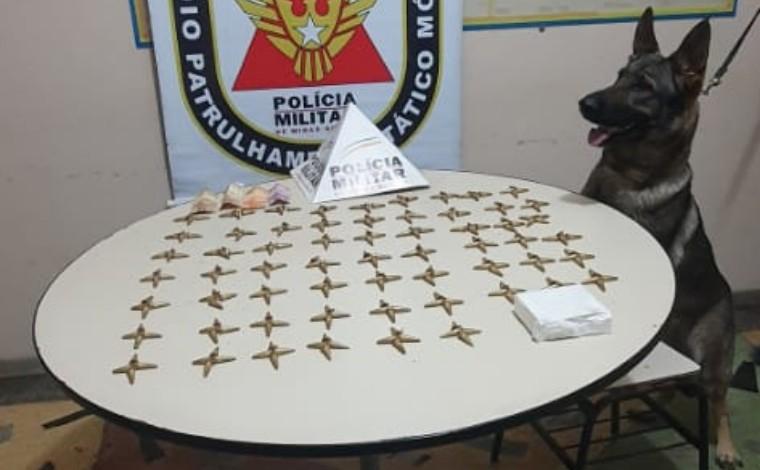 Polícia Militar apreende adolescente com grande quantidade de drogas em Matozinhos