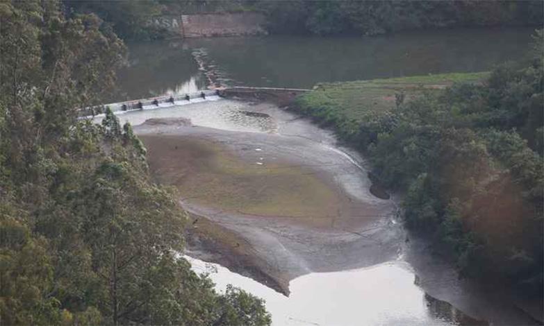 Rio das Velhas apresenta nível crítico de vasão