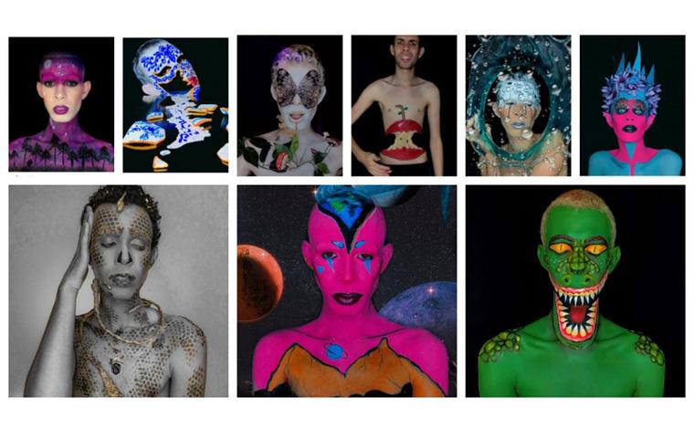 Jovem faz sucesso na internet com vídeos de transformação com maquiagem