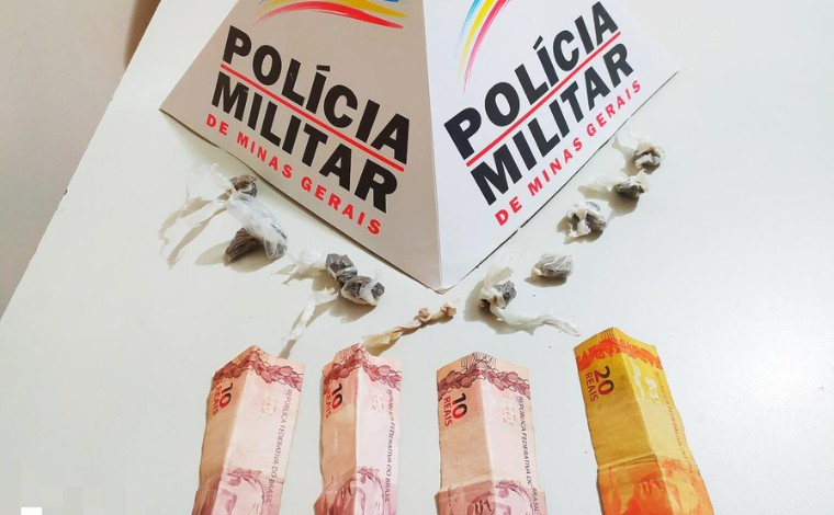 Polícia Militar prende suspeito de tráfico de drogas em Matozinhos