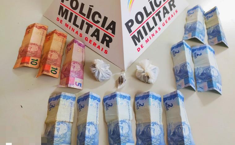 Após denúncia anônima, homem é preso por tráfico de drogas em Capim Branco