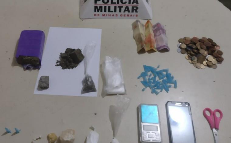 Duas mulheres são presas em flagrante suspeitas de tráfico de drogas em Matozinhos
