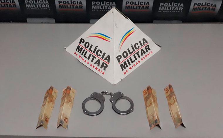 Homem é preso suspeito de assalto dentro de agência bancaria de Sete Lagoas