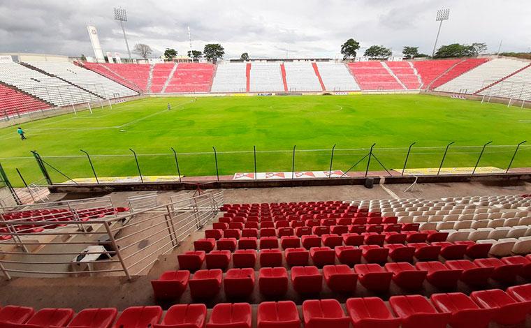Arena do Jacaré deverá receber jogos do Cruzeiro quando Sete Lagoas avançar para Onda Verde