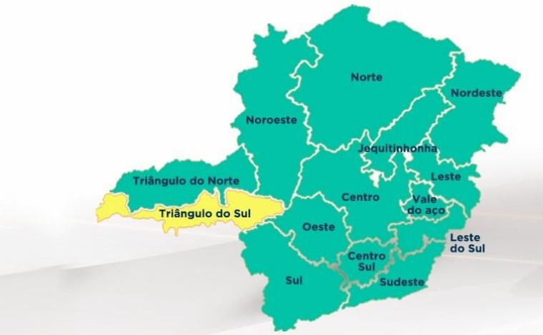 Minas Consciente: estado tem queda na ocupação de leitos e mais duas regiões avançam para onda verde