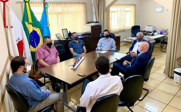 Chefe do 19º departamento da Polícia Civil  visita prefeituras da região