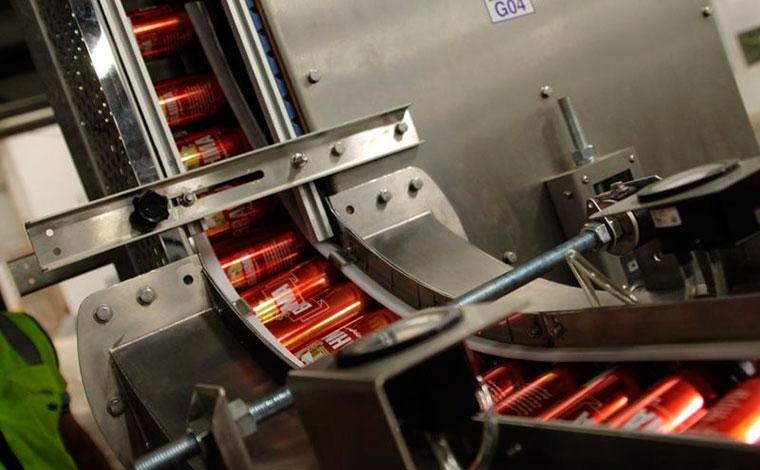Fábrica de latas da Ambev em Sete Lagoas tem 100% das obras concluídas