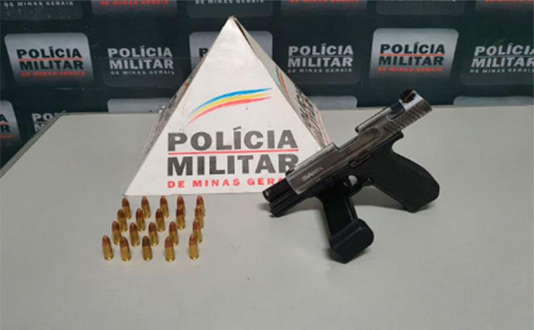 Com várias passagens pela polícia, homem é preso novamente por posse ilegal de arma em Sete Lagoas