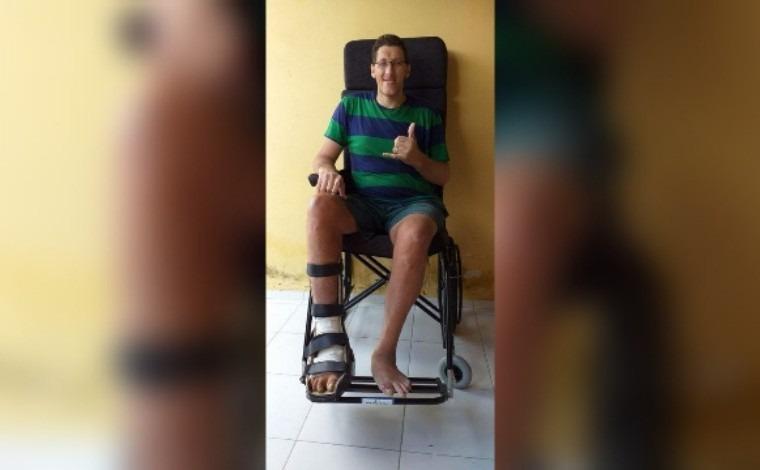 Homem mais alto do Brasil terá que amputar perna por causa de infecção: 'decisão dura e dolorosa'