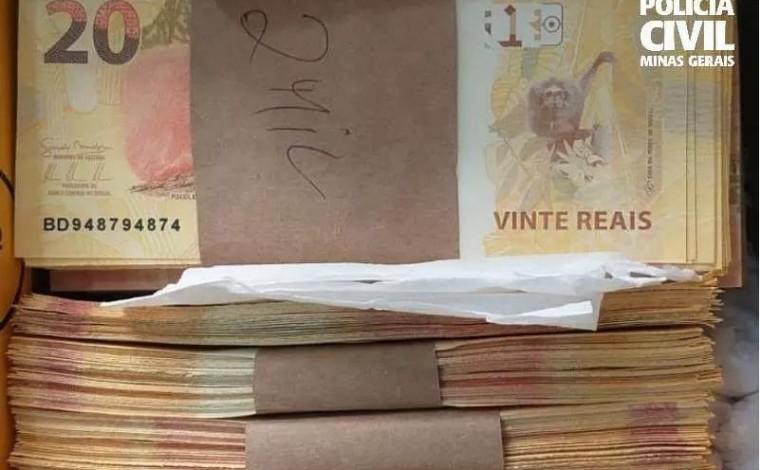 Homem encomenda R$ 24 mil em notas falsas pelos Correios e é preso em Minas Gerais