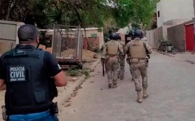 Polícia Civil realiza operação de combate ao tráfico de drogas e prende três pessoas em Sete Lagoas