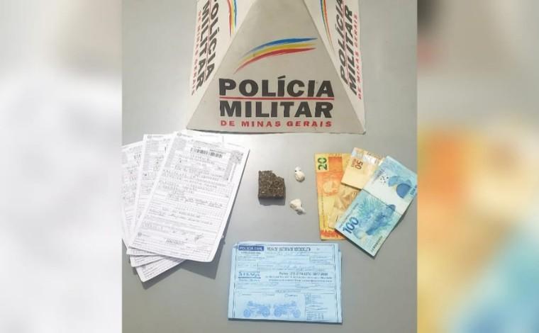 Após perseguição policial, homem em prisão domiciliar é preso por tráfico de drogas em Sete Lagoas