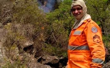 Sargento dos bombeiros morre após sofrer mal súbito enquanto combatia incêndio no interior de Minas