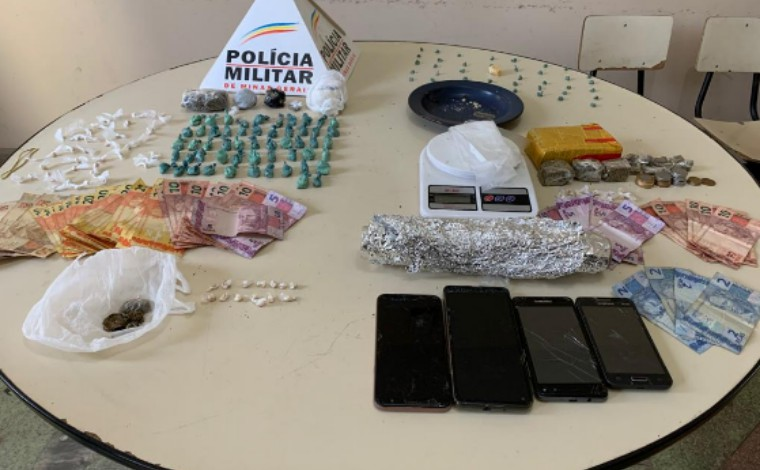 Operação Securus: Polícia Militar prende sete pessoas e apreende grande drogas em Prudente de Morais