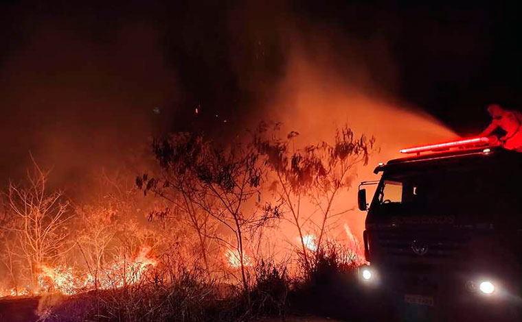 Sete Lagoas tem aumento de 15,8% nas ocorrências de incêndios florestais