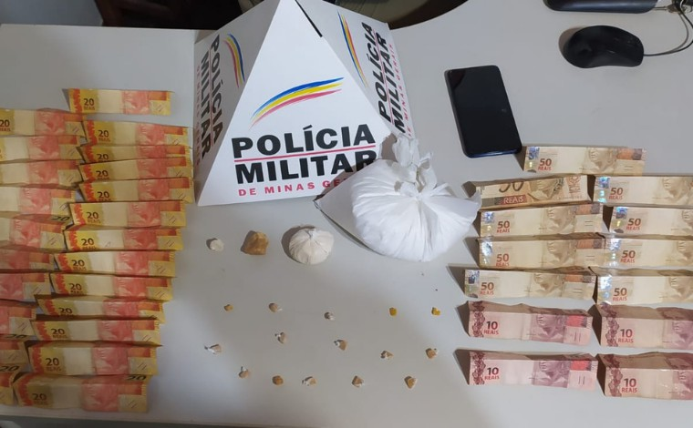 Polícia Militar apreende drogas e prende suspeito de tráfico em Santana de Pirapama