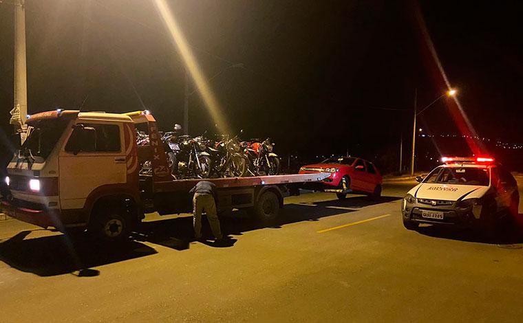 Polícia Militar deflagra operação para combater 'rachas' no bairro Bela Vista em Sete Lagoas