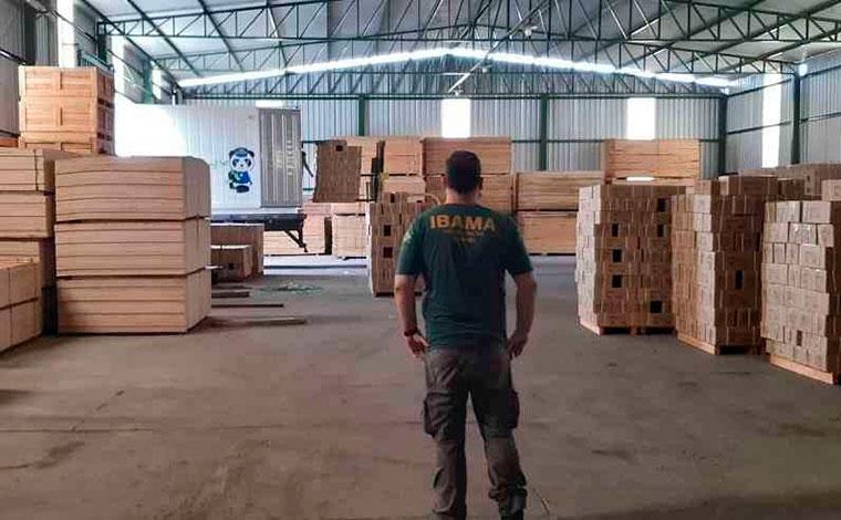 Ibama notifica empresas de Sete Lagoas e região suspeitas de comércio ilegal de madeira da Amazônia