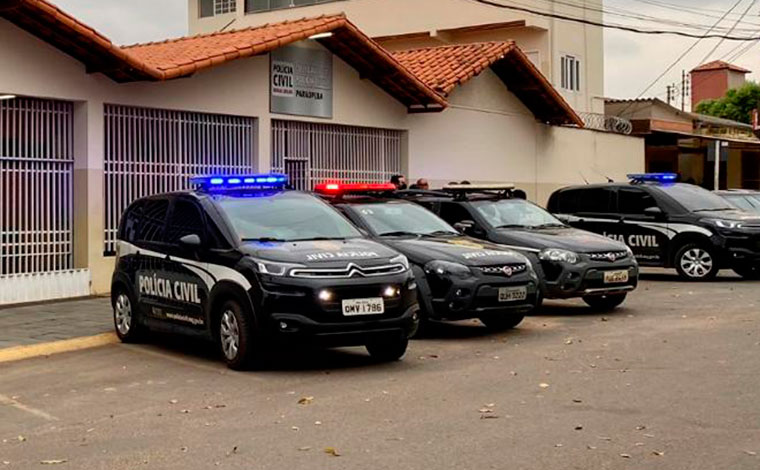 Seis pessoas são presas em operação da Polícia Civil contra o tráfico de drogas em Paraopeba