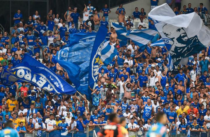 Pesquisa aponta Cruzeiro como time de maior torcida fora do eixo Rio-SP