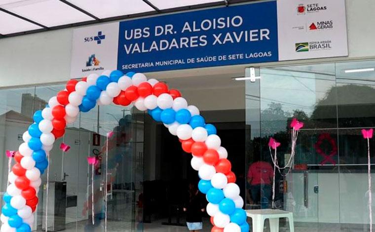 Sete Lagoas inaugura Unidade Básica de Saúde no bairro Nossa Senhora das Graças