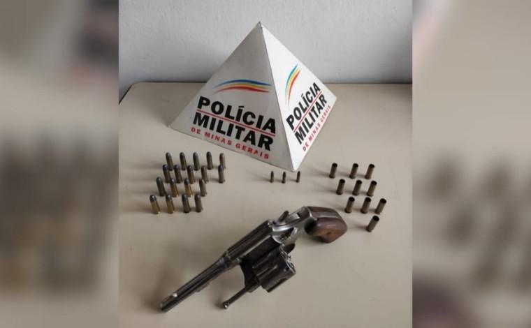 Polícia Militar prende suspeito de homicídio em Paraopeba e apreende arma de fogo utilizada no crime