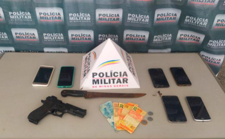 Menores são apreendidos suspeitos de roubarem comércio no bairro de Fátima em Sete Lagoas