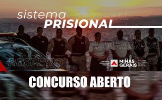 Concurso Policial Penal - Estão abertas as inscrições para o concurso da Polícia Penal em MG