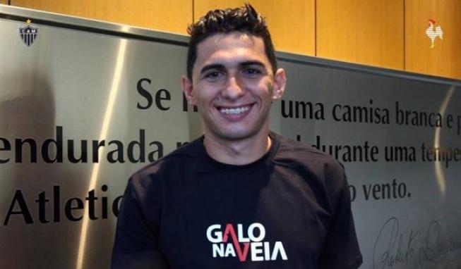 Danilo Barcelos comemora chegada ao Galo e projeta ano de vitórias