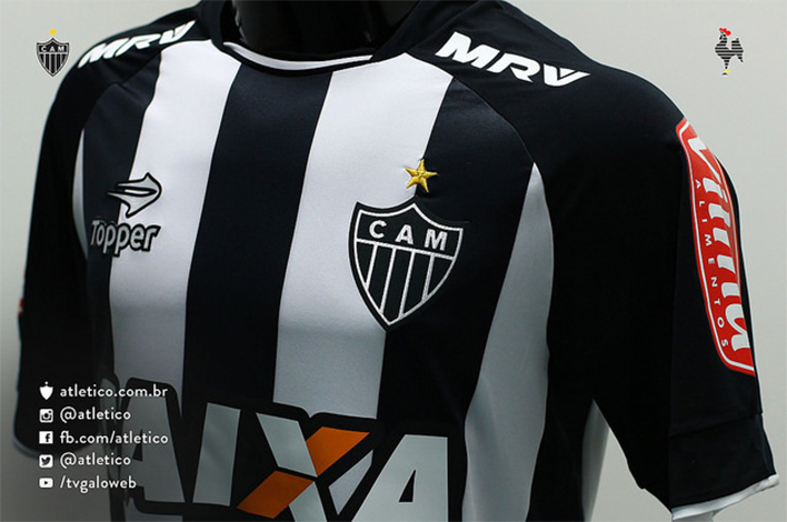 Galo lança novo uniforme do time para o início da temporada 31dce025099fb