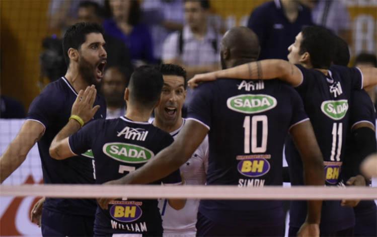 Invicto na Superliga, Sada Cruzeiro faz primeiro jogo de 2017 neste sábado (7)