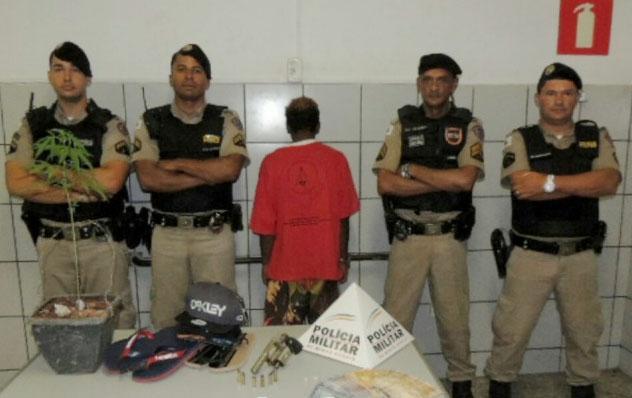 Polícia prende jovem que praticava assaltos em Sete Lagoas