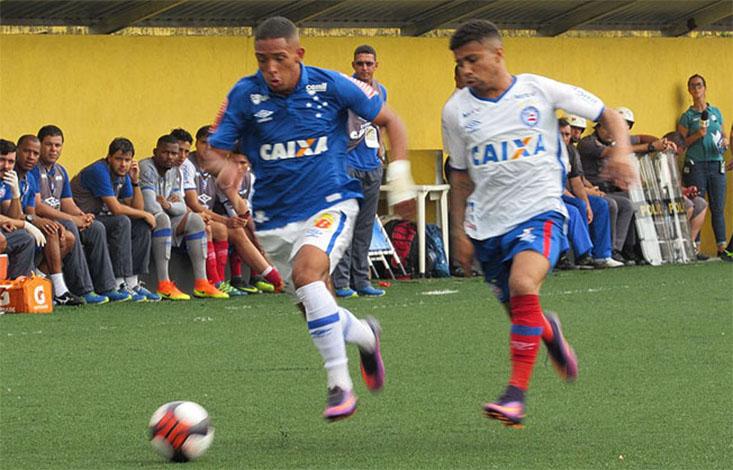 Cruzeiro bate o Bahia e avança na Copa São Paulo de Juniores