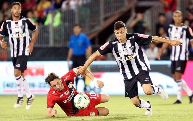 Galo perde para o Leverkusen na estreia pela Florida Cup