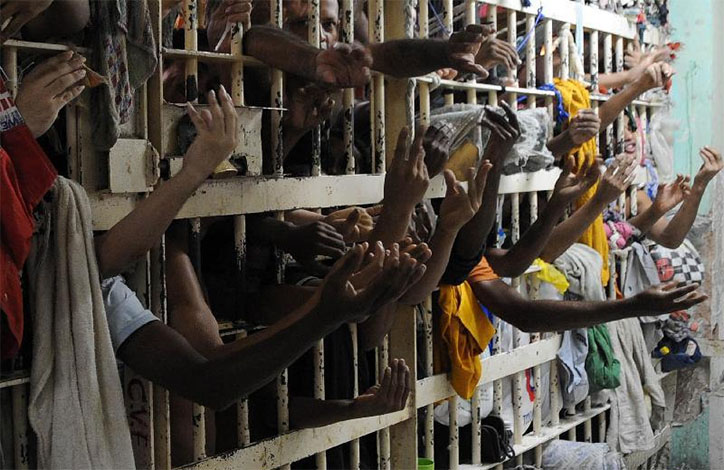 País tem déficit de 250 mil vagas nas prisões, diz Ministério da Justiça
