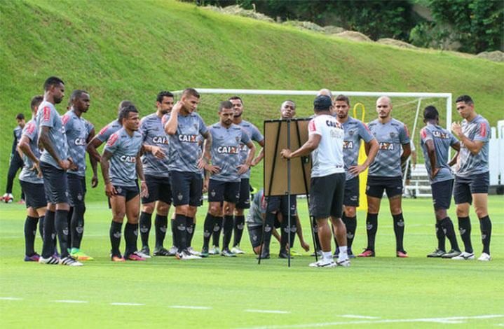 Galo segue concentrado em pré-temporada visando estreia no Mineiro
