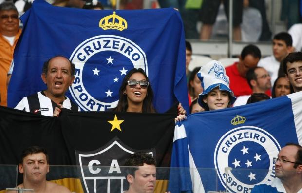 Cruzeiro e Atlético terão torcidas meio a meio em jogo da Primeira Liga